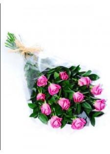 Стандартный букет из розовых роз