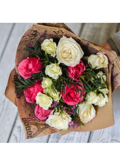 Букет прекрасных роз