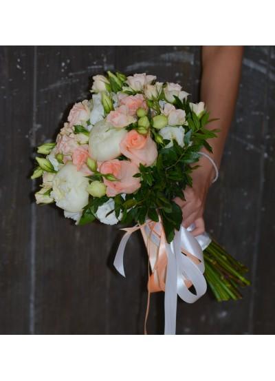 Прелестный свадебный букет