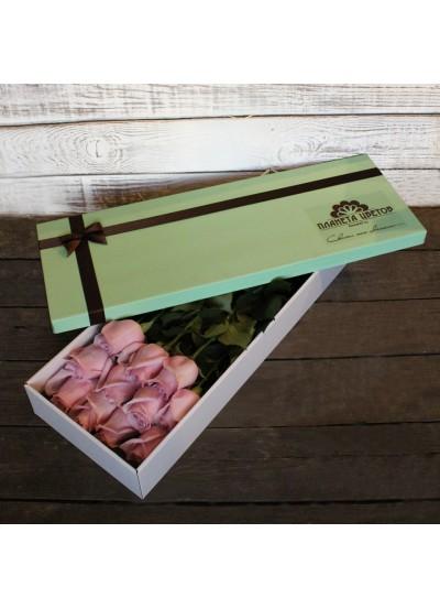 Коробка 11 роз